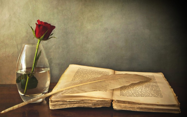 old-book-and-rose-hd-wallpaper-768x480